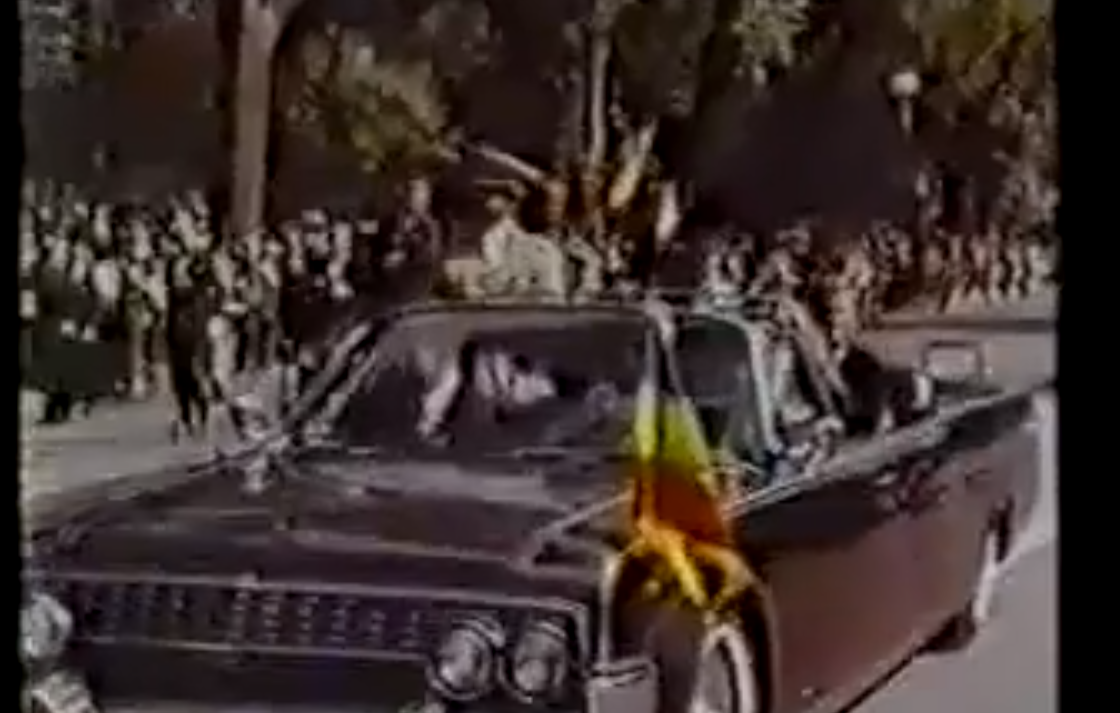 Emperor Haile Selassie visiting the United States