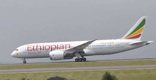 Ethiopian 787 dreamliner
