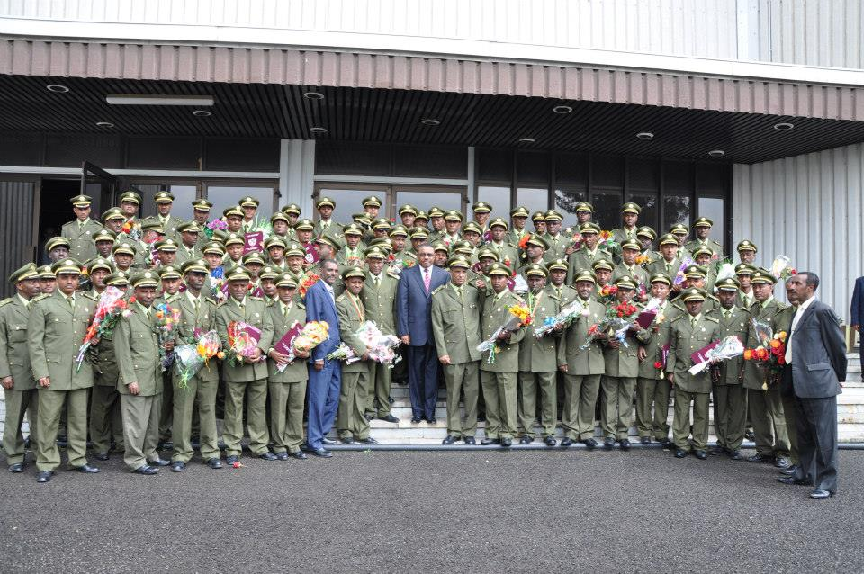 Ethiopian Military Leadership graduates