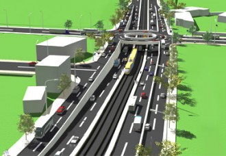 addis ababa Light Train road design