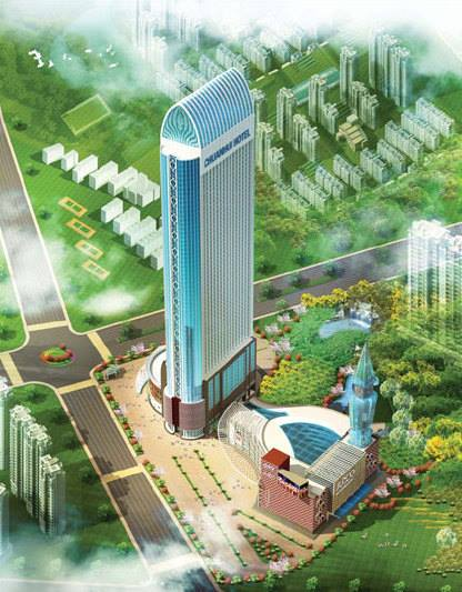 Addis Ababa tallest Building by Chinese