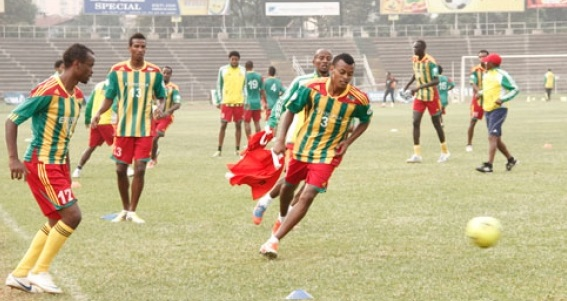 Ethiopia begin training for playoff game with Nigeria