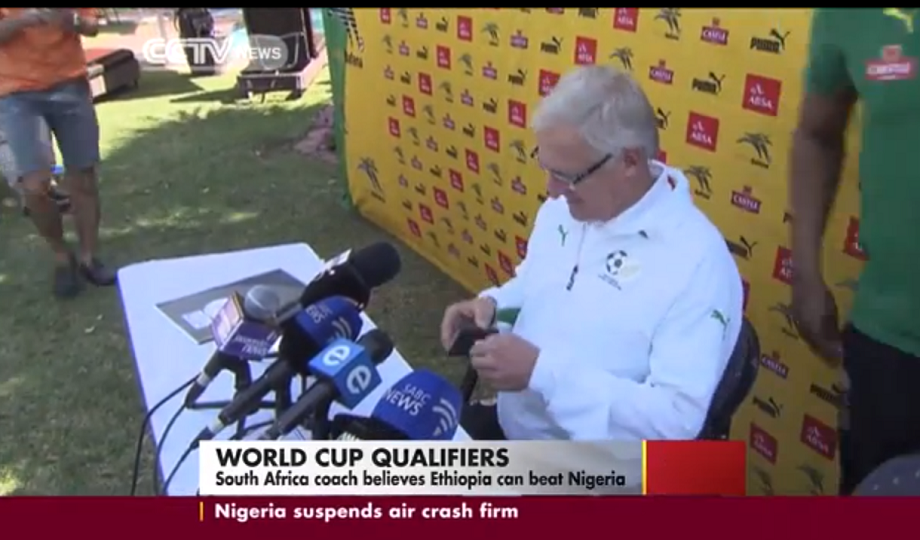 Ethiopia can beat Nigeria - South Africa coach - CCTV