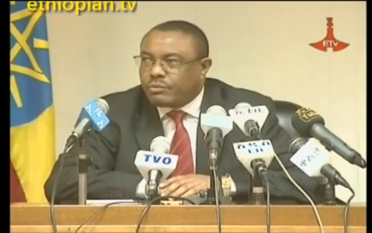 Prime Minister Hailemariam Desalegn Press Conference