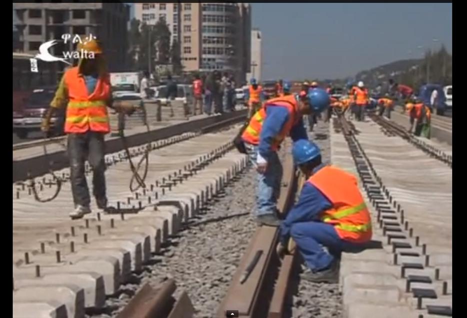 Addis Ababa Light Rail Project progress