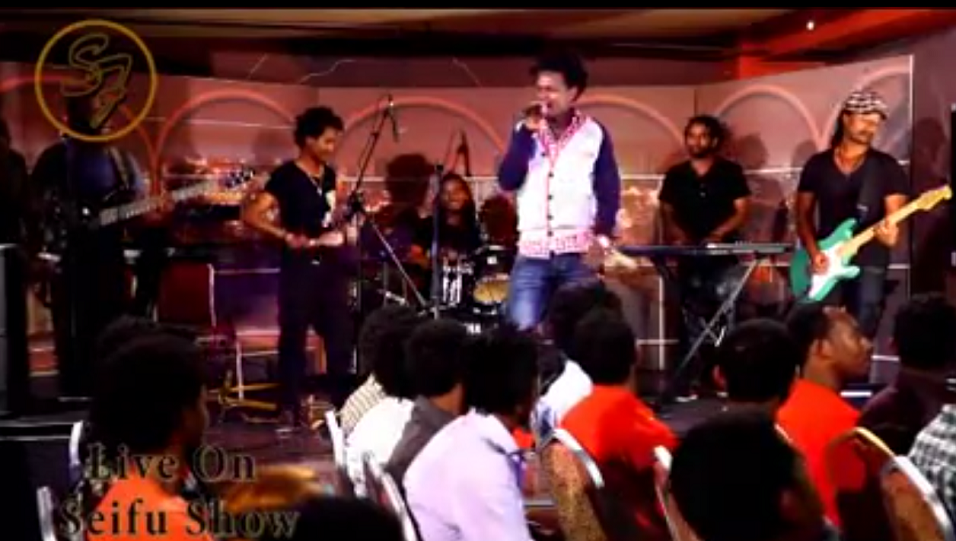 Ziggy Singing Aster Aweke Song Live Seifu Fantahun Show