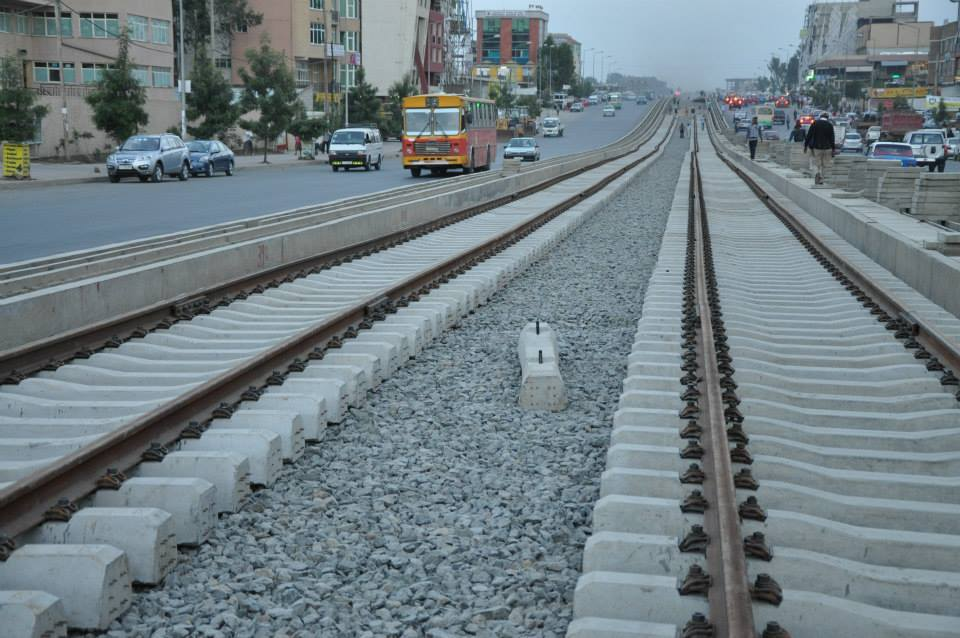 Addis Ababa Light Rail Project 50 percent complete