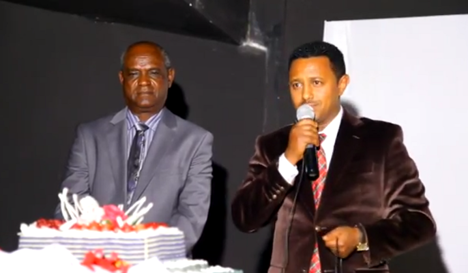 Teddy Afro at Sewinet Bishaw's documentary premier