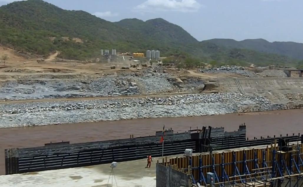 Great Ethiopian Renaissance Dam Construction - Walta