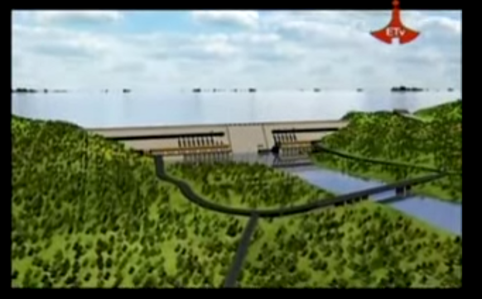 Great Ethiopian Renaissance Dam - Video