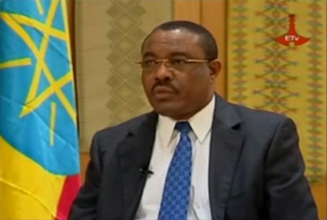 PM Hailemariam Desalegn interview Ginbot 20 2014 - ETV