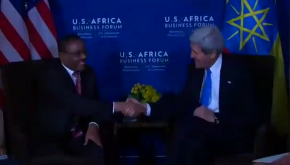 Secretary Kerry Delivers Remarks with PM Hailemariam Desalegn - U.S. Africa Leaders Summit