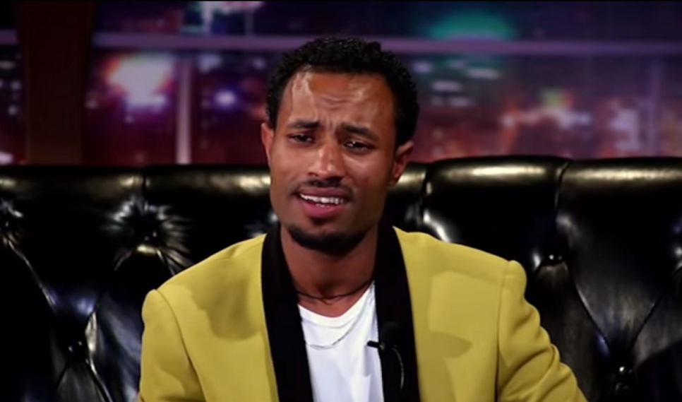 Comedian Azmeraw Interview Seifu Fantahun Show - September 2014